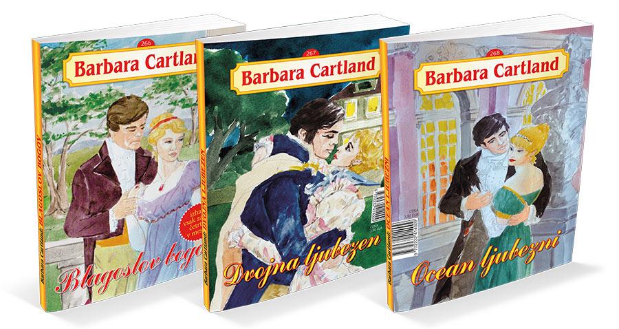 Barbara Cartland Ljubezenski Romani